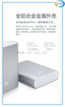 Authentic xiaomi power bank 10400MAH large capacity portable 18650 battery charger 10400mah mobile power for cell phone