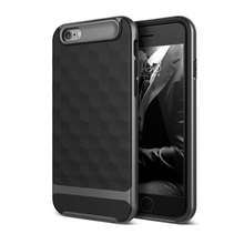Colorful mobile phone case , Navy bottom+black side tpu shockproof armor case for iphone 7 plus