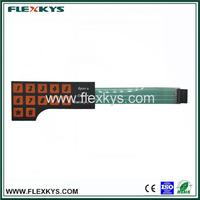 Function touch screen membrane panel keypad