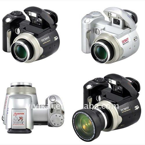 "Hot selling Slr type 12Mege Pixels Digital camera with 2.4"" TFT screen and wide angle lens from OEM&ODM factory"