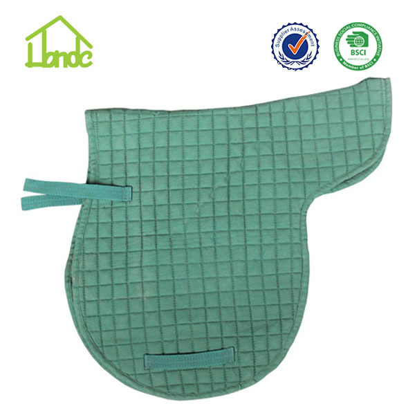 embroidery jumping horse saddle pad