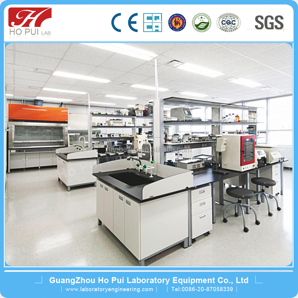 2016 lab equipment Dental Laboratory Furniture school/university/chemistry/science/biology lab island bench/language