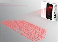 Magic virtual wireless laser keyboard laser virtual keyboard with 7800Mah battery power bank function