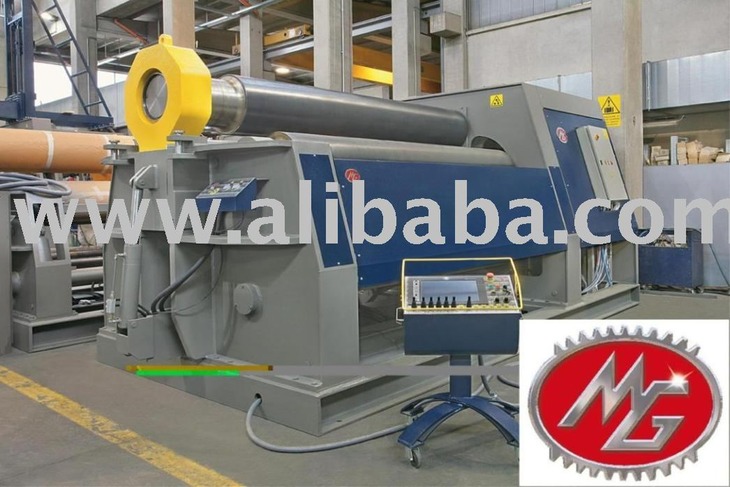 Three Roll Double Pinch Plate Bending Machine