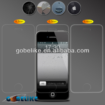 0.2mm 0.3mm thickness tempered glass screen protector, factory supply
