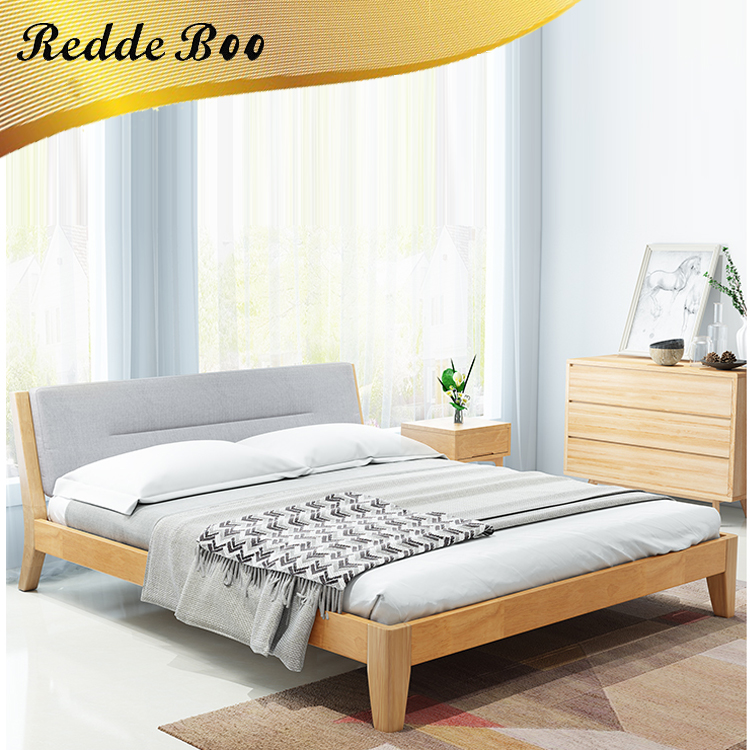 Modern hotel bed frame with hotel bed set