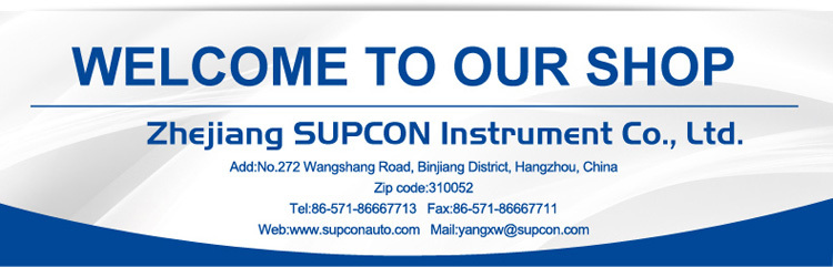 SUPCON X-II calibration of inclinometer/process calibrator and temperature calibrator