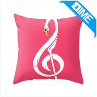 Cushion Cover With Music Style Undefined Pillow Case For Home and Car Seat
