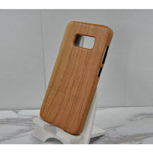 Dongguan Factory Sublimation Cell Phone Cases Raw Material Cheery Wood for Samsung Mobile Phone Back Cover