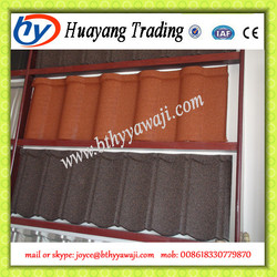 Hot Sale stone coated roof tile machine