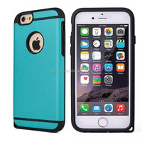 Good quality 2015 Hot selling Hybird TPU & leather case for iphone 6