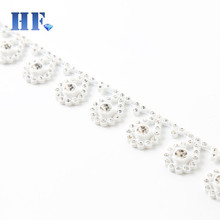 Clothing Accessories Wedding Dress Decorative Rhinestone Chain Trims