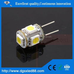 Ecolight,Best Selling! Small Size Epoxy resin glue LED 12V 1.5W G4 Led Lamp
