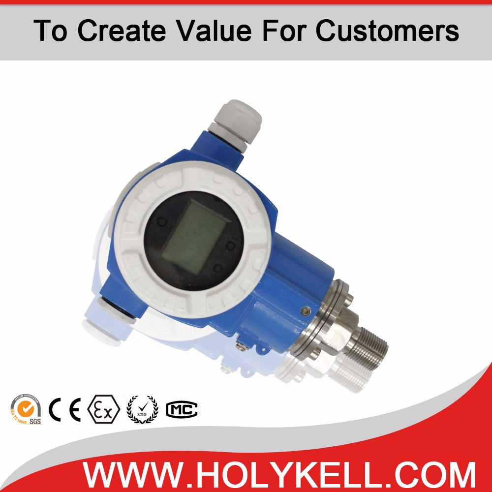 Holykell HK7 Series smart liquid differential pressure transmitter RS485 MODBUS RTU output