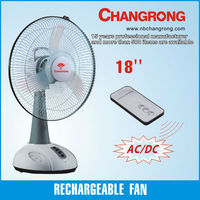 12v dc table fan with led light