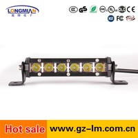 18w Mini size Single Row LED Light bar spotlights for car offroad driving light