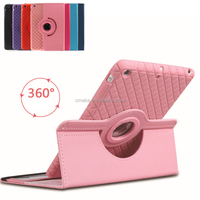 Photos Frame 360 Degree Rotating Smart Stand Case Hybrid Leather TPU Silicone Cover For iPad Mini 1 2 3