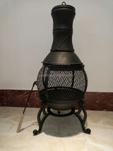 Cast Iron Outdoor Chiminea For Wood Burning