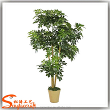 wholesale green artificial money tree make cheap outdoor large money tree