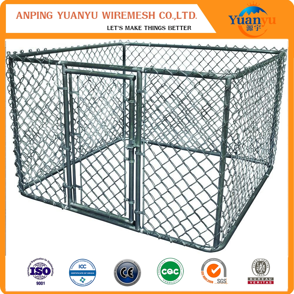 Wholesale cheap chain link dog kennel / metal dog cage