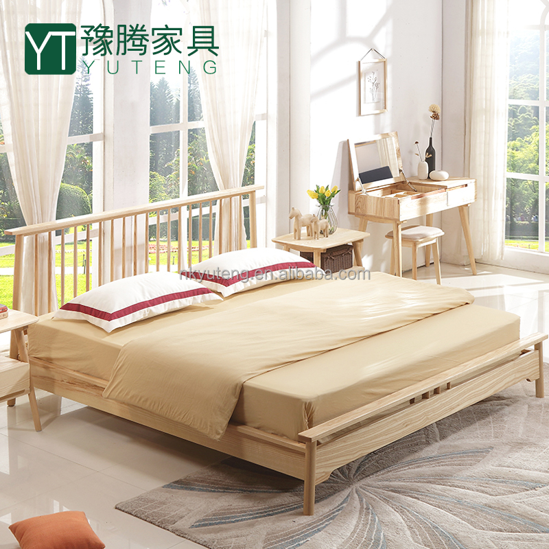 wooden furniture double bed YT-DB06