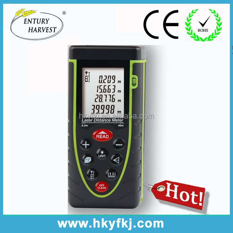 Pythagorean length area volume width measurement instruments digital altimeter 40m 50m 60m 70m 80m