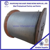 wire rope manufacturer,Non rotating steel wire rope 19x7, galvanized steel cable