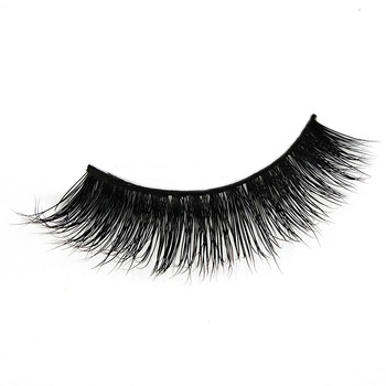 competitive natural looking beauty 3d mink lashes custom eyelash packaging