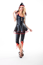 AWC-129 YIWU caddy Sexy Spooky Woman Vampire Costume for Halloween, Cosplay or Carnival