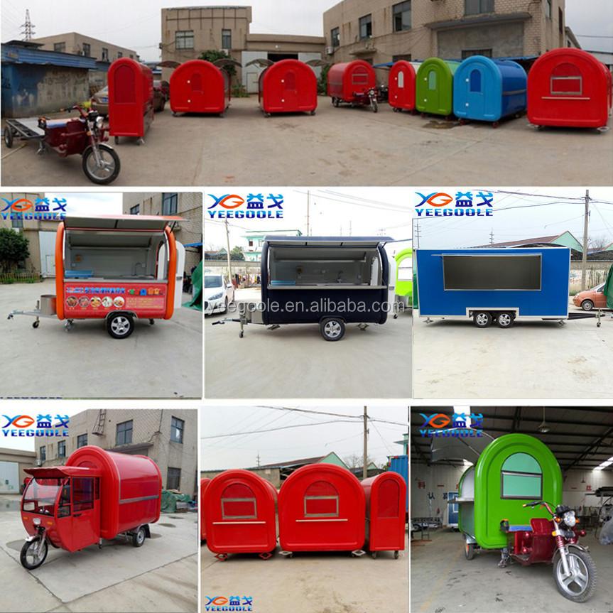 2016 Used Mobile Food Trucks Vending Machine Kebab Trailer Truck Van Business Design