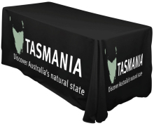 Event And Trade Show Massage Table Cover