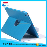2015 Ultra thin 360 rotate PU leather case for ipad mini .new arrival product for ipad mini leather case with your custom design