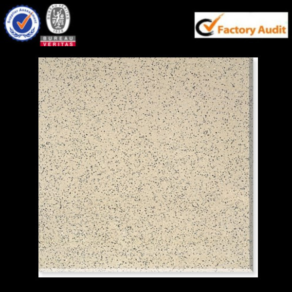 OFF WHITE GLOSS HOMOGENOUS FLOOR TILE