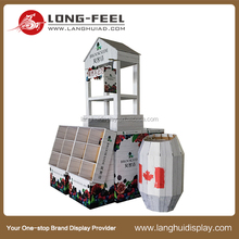 Very useful to promotion and waterproof function chocolate candy carton stand display manufactures
