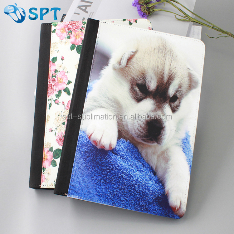 Newest sublimation Flipart leather wallet case case for Ipad air 2
