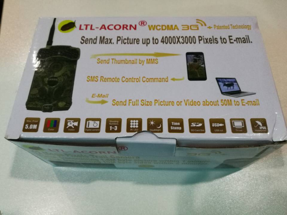 Ltl acorn 6310- 3G hunting trail camera support send video via 3G network