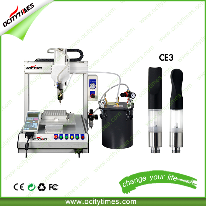 Ocitytimes High quality F1 fresh choice cbd hemp oil electric cigarette filling machine