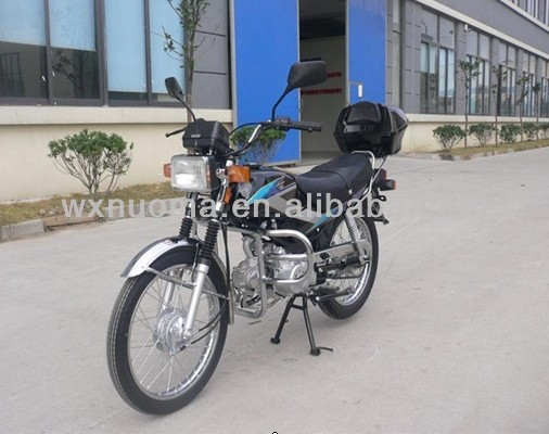 LIFO 98cc motorcycle without rear box,spoke wheel,with safe guard