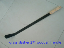 Uganda Hand Grass Cutting Slasher M214 With Black Painted Blade