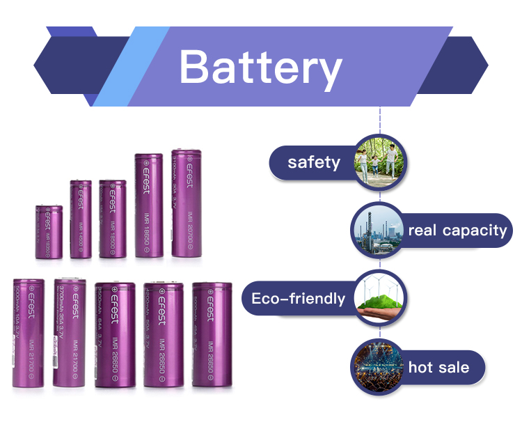 Lithium Battery With 4200Mah 3.7V 26650 Rechargeable Battery