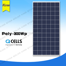 Hanwha poly 300w 110 watt solar panel from china wholesale