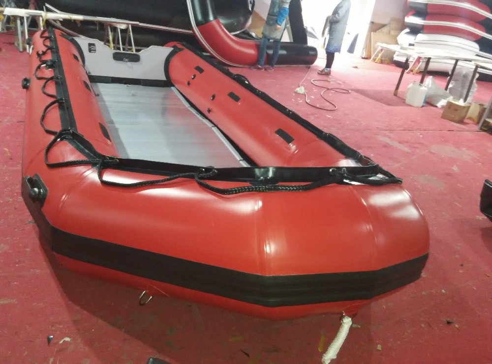 14persons Aluminum HH-520 inflatable boat with CE Certification for summer sports
