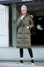 JS 11 Factory supplier serviceable cheap thin down jacket winter wear with fur trim for women