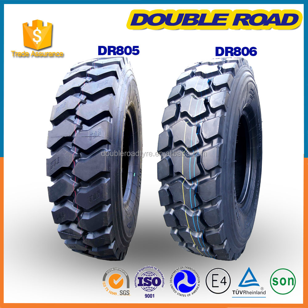 Wholesale Malaysian Double Road Light Truck Tyre Manufacturer 6.50x16 700r15 8.25r16 8r17.5 Commercial Truck Tire