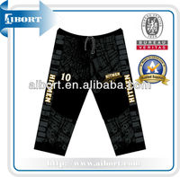 Colorful sublimated pants with fashion design
