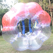 inflatable soccer bubble ball for football cheap plice
