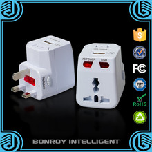 Promotional Gift All In One 12V 2100mA Fast Charging USB Mini AC Travel plug Adapter