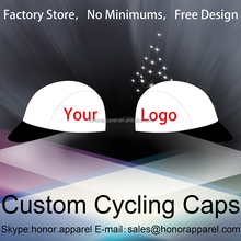 Wholesale free design Promotional OEM Fashion Printing Own Logo Custom printing Cycling Cap