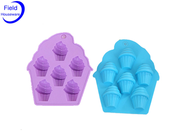 100% Food Grade Silicone Icecream Cube Tray