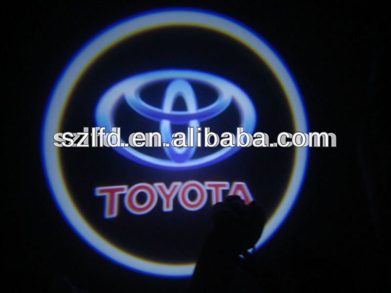the smallest 3D LED all car names and logos LED Ghost Shadow Light